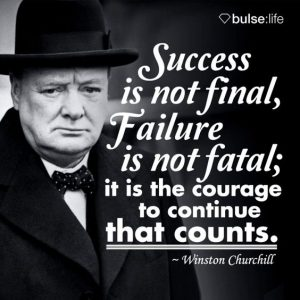 24 Winston Churchill Quotes to Inspire You to Never ... |Powerful Quotes About Failure Churchill